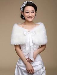 Fur Wraps Faux Fur Warm Wedding Shawls