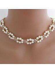 collar de perlas de imitación de la moda europea de las mujeres (1 pc)