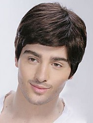 Top Grade Quality Human Hair  Men's  Wigs