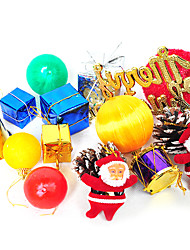 Merry Christmas Decoration Sets-Set of 15