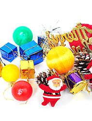 Merry Christmas Decoration Sets-Set of 15