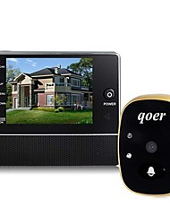"AOLUGUYA 3.0"" LCD Screen Door Peephole Viewer with Night Vision Photo and Video Home Security"