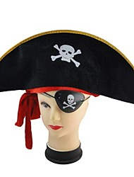 Halloween Dress Up Props Pirate Hat Goggles