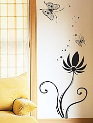 Wall Stickers Wall Decals, Flower Poster Mural Home Decor PVC Wall Stickers