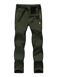 мужская сохранить теплые открытый штаны флисовые
