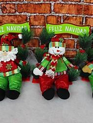 Swingin santa christmas Fenster Tür hängende Ornamente