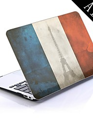 France Flag Design Full-Body Protective Plastic Case for 11-inch/13-inch New MacBook Air