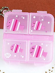 Cute Mini Plastic Bill Box(1 Pc)