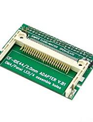 """cf compact flash card merory al adaptador de disco duro SSD vertical de 2,5 """"44 pin ide unidad de disco duro"""