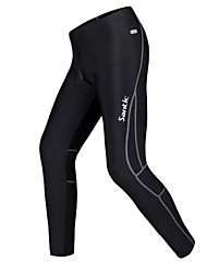 SANTIC Bike/Cycling Pants/Trousers/Overtrousers / Tights / Bottoms Men's Fleece Lining / Thermal / Warm / Reflective StripsPolyester /