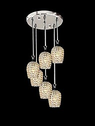 hanglampen 6 licht modern eenvoudige artistieke