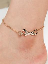 Women's Fashion Leopard Anklets