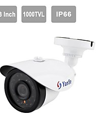 "YanSe® 1/3""CMOS IR Camera 24-LED 1000TVL Waterproof CCTV Vision Security Outdoor Cameras 714CFW"