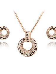 ROXI Fashion Genuine Austrian Crystal,Delicate Gold Plated Jewelry Set, Chrismas /Birthday Gift
