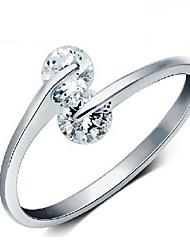 Les anneaux coeur d'impression de ding ding femmes