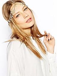 Mode-Blumen Haar Krone Stirnband Kopf Krone weißen Kristall Haarschmuck Kopfkette