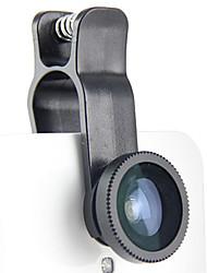 FANSPDA Wide-angle Macro Fisheye Lens Universal for Cellphone(Random Color)