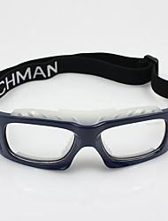 [lentes libres] gafas deportivas impacto baloncesto personalizado rectángulo de plástico resistente con receta