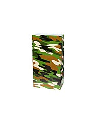Coway  Christmas Camouflage Party Gift Bag of Candy Bags of Food Packaging Bag