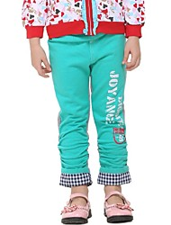 Girl's Cotton Pants , Winter/Spring/Fall