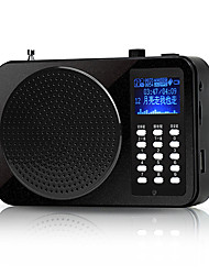 Loudspeaker Voice Amplifier Megaphone FM Wireless for Teaching TF Support USB AUX MP3 Voice Recording FM K70