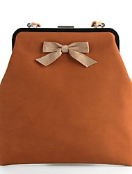 PU/Day Clutches/Shoulder Bags with Bowknot