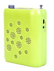 Loudspeaker Voice Amplifier Megaphone TF Support USB AUX MP3 FM Large Power K08