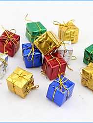 Christmas Tree Pendant Jewelry Box Small Packs (Set of  12)