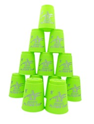 12 Piece Race-Specific Magic Flying Stacked Cup