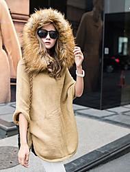 suéter de lana abrigo de las mujeres