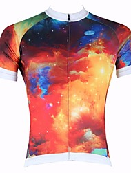 PALADIN Men's Cycling Tops Short Sleeve Bike Spring / Summer Breathable / Ultraviolet Resistant / Quick Dry RedS / M / L / XL / XXL /