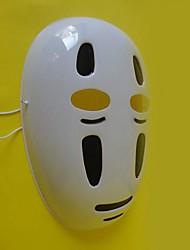 El viaje de Chihiro sin rostro pvc blanco de halloween máscara