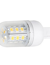 5W G9 Spot LED 27 SMD 5730 450-500 lm Blanc Chaud / Blanc Froid AC 100-240 V