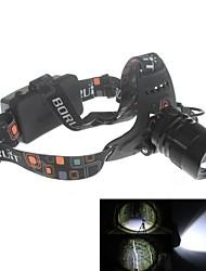 Zweihnder XKL-03 Waterproof 5-Mode 1xCree XM-L2 U2 Zoom Headlamp (1900lm,2 x 18650,Black)
