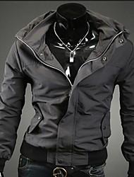 manlodi мужская молния одной Брест куртка
