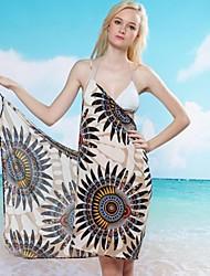 Women's Halter Cover-Ups , Floral Spandex/Ice Silk Multi-color