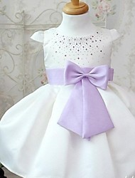 Girl's Fashion Sweet Bowknot Princess Dress