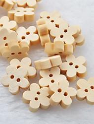 prunier album scraft coudre des boutons en bois de bricolage (10 pièces)