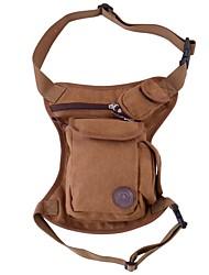 L Waist Bag/Waistpack Camping & Hiking Traveling Wearable Canvas