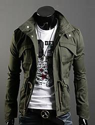 sonen мужской стенд воротник Bodycon все соответствующие пальто