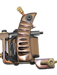 Wire Cutting Damascus Steel Tattoo Machine Gun for Liner
