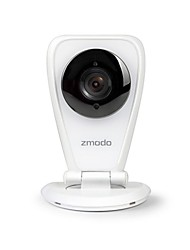 Zmodo® Wireless HD 720P Wi-Fi Mini IP Camera Network Security Camera System QR Code Smartphone P2P