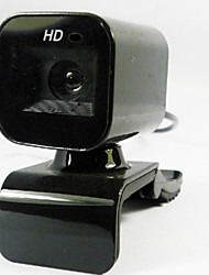 Webcam 5.0MP HD com cabo retrátil
