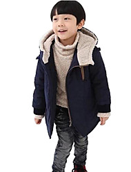 Boy's Korean High-Quality Embroidery Fashion Coat