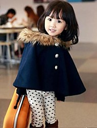 Girl's Wool Jacket & Coat , Winter