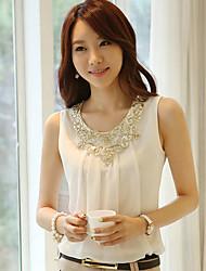Women's Tops & Blouses , Cotton Casual huimeiyi
