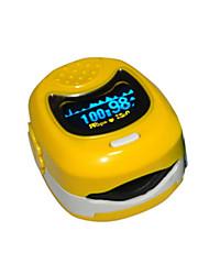 dedos de los niños Contec oximetría de pantalla a color cms50qb, indicador digital de peso ligero de tamaño pequeño, fácil de transportar