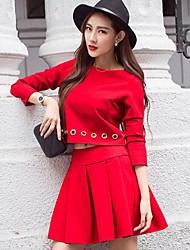 Women's Fashion Suits(Shirt&Skirt)(More Colors)