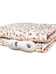 style campagnard cirrus motif dacron couverture électrique 220V 50Hz 70W - couleur aléatoire