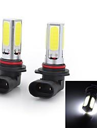 Marsing High Power 9006 20W 6500K 1500lm 4-COB LED Cool White Car Head Light / Foglight (12~24V / 2 PCS)